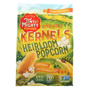 Tiny But Mighty Popcorn Popcorn - Unpopped Kernels - Case Of 8 - 20 Oz