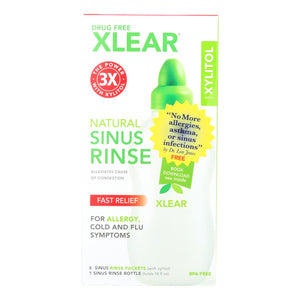Xlear - Sinus Neti Refil Solution - 50 Ct