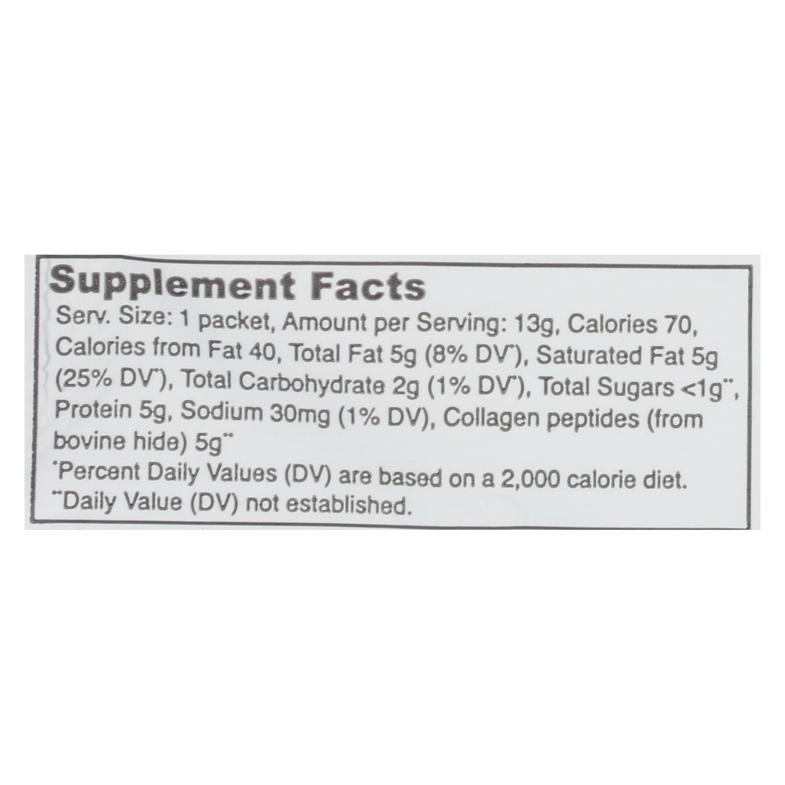 Vital Proteins - Collagen Creamr Mocha Stx - Case Of 14 - .46 Oz