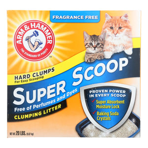 Arm & Hammer - Cat Litter Clmp Frg Free - Case Of 2 - 20 Lb