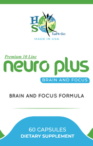 NeuroPlus10- Brain And Focus Formula