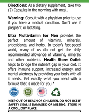 Ultra Multi-Vita For Men - Premium 10 Line
