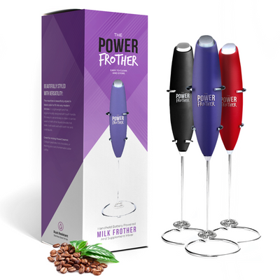 Choose Your Flavor Bundle Pack - Power Frother + PowerCreamer