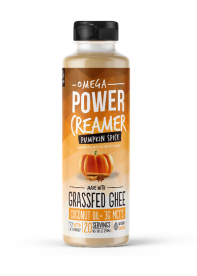 Omega PowerCreamer - (NEW) Pumpkin Spice