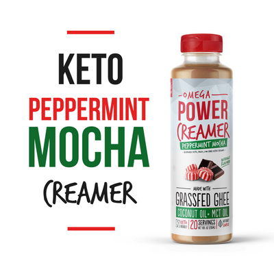 Omega PowerCreamer Holiday 2-Pack - Pumpkin Spice & Peppermint Mocha