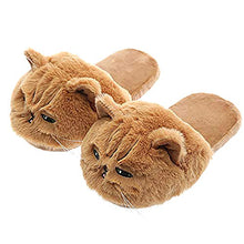 Load image into Gallery viewer, Millffy Cute Funny Animal Cat Slippers cozy comfy for Kids Adults