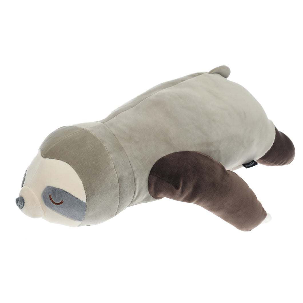 Millffy Realistic Stuffed Sloth Toy Plush Sloths Soft Toy Animals Plushie Pillow for Kids Gift