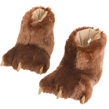 Load image into Gallery viewer, Millffy Funny Stuffed Animal Paw Slippers Soft Cozy Claw Paw Slippers for Toddlers, Kids & Adults Costume Footwear