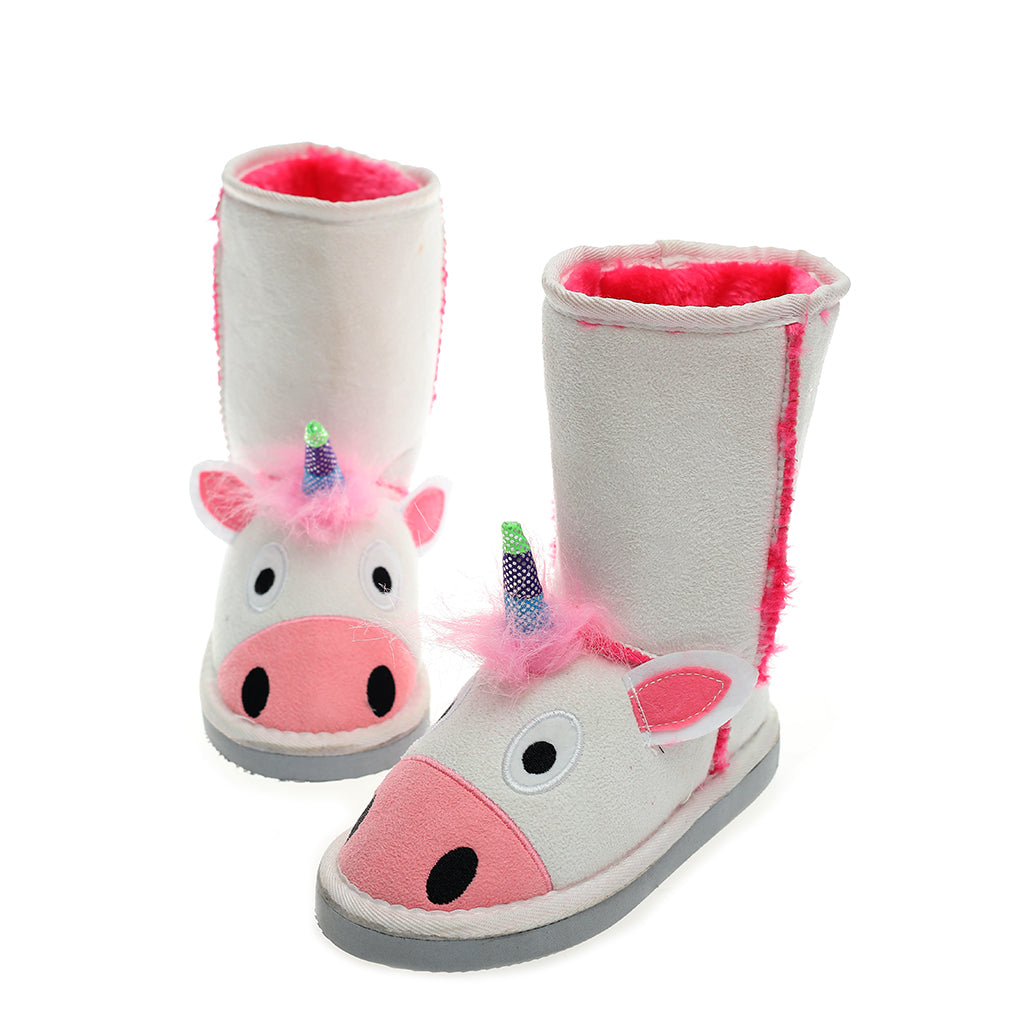 Millffy Animal Character boot Slippers for Kids Boys and Girls Slipper Boots Winter Warm Shoes