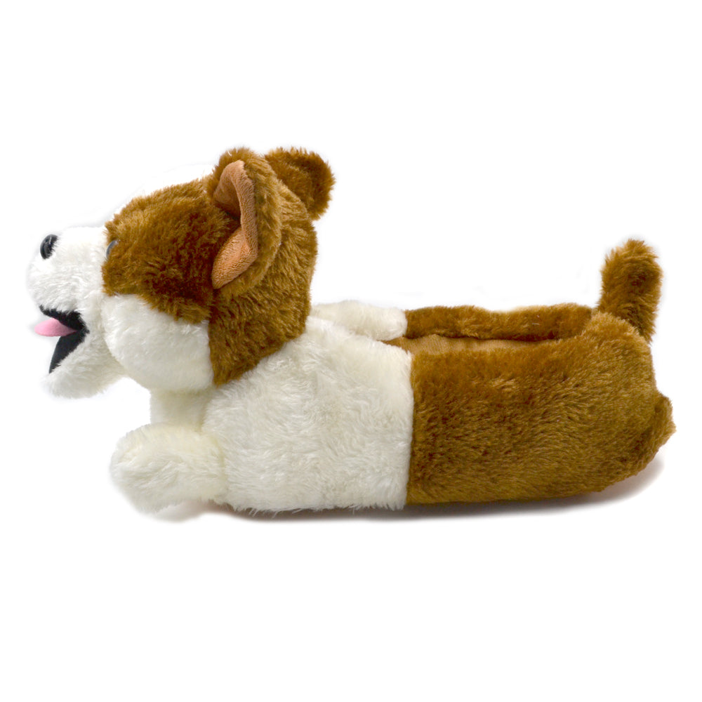 Millffy Plush Classic Bunny Slippers Adult Sized Shepherd Dog Corgi Costume Footwear