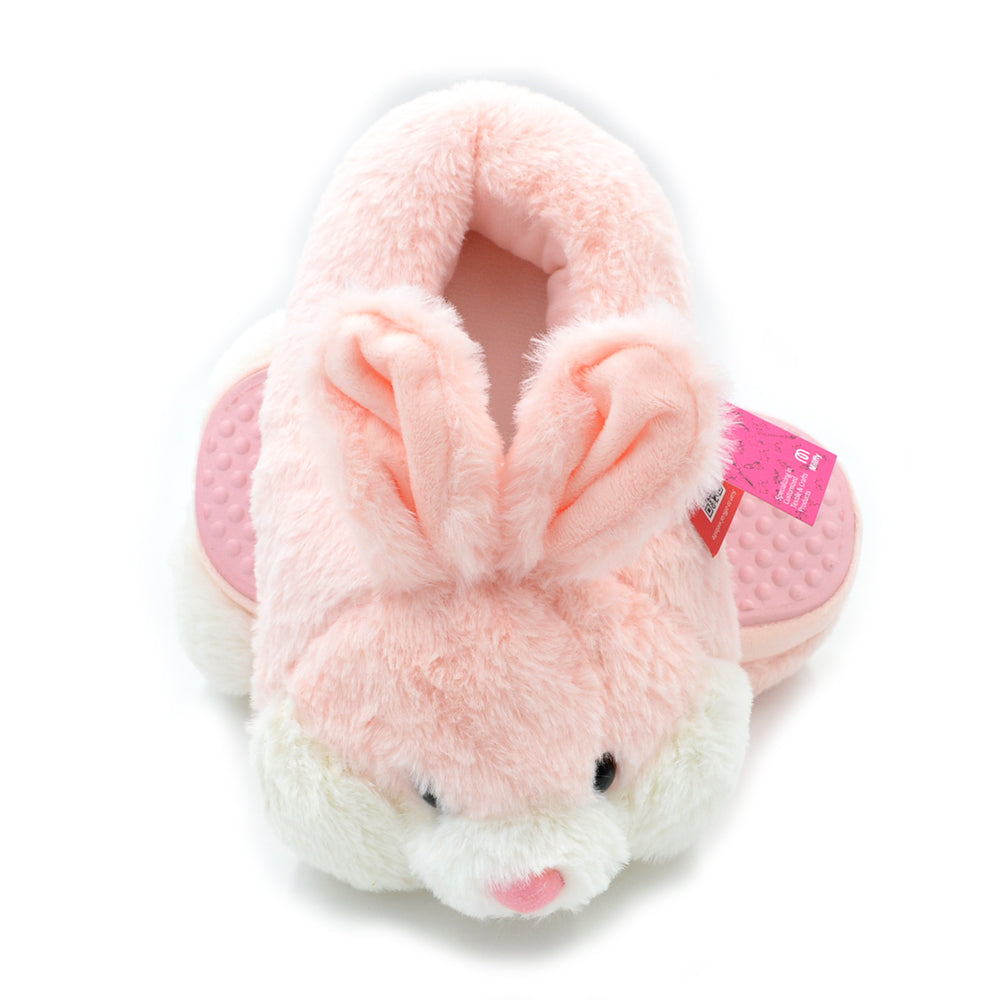 Millffy Bunny Slippers for Women Warm Funny animal Plush Slippers