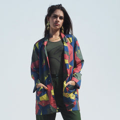 ! NEW ! LUNCH JACKET - CAMO SNAKES Print - Parachute