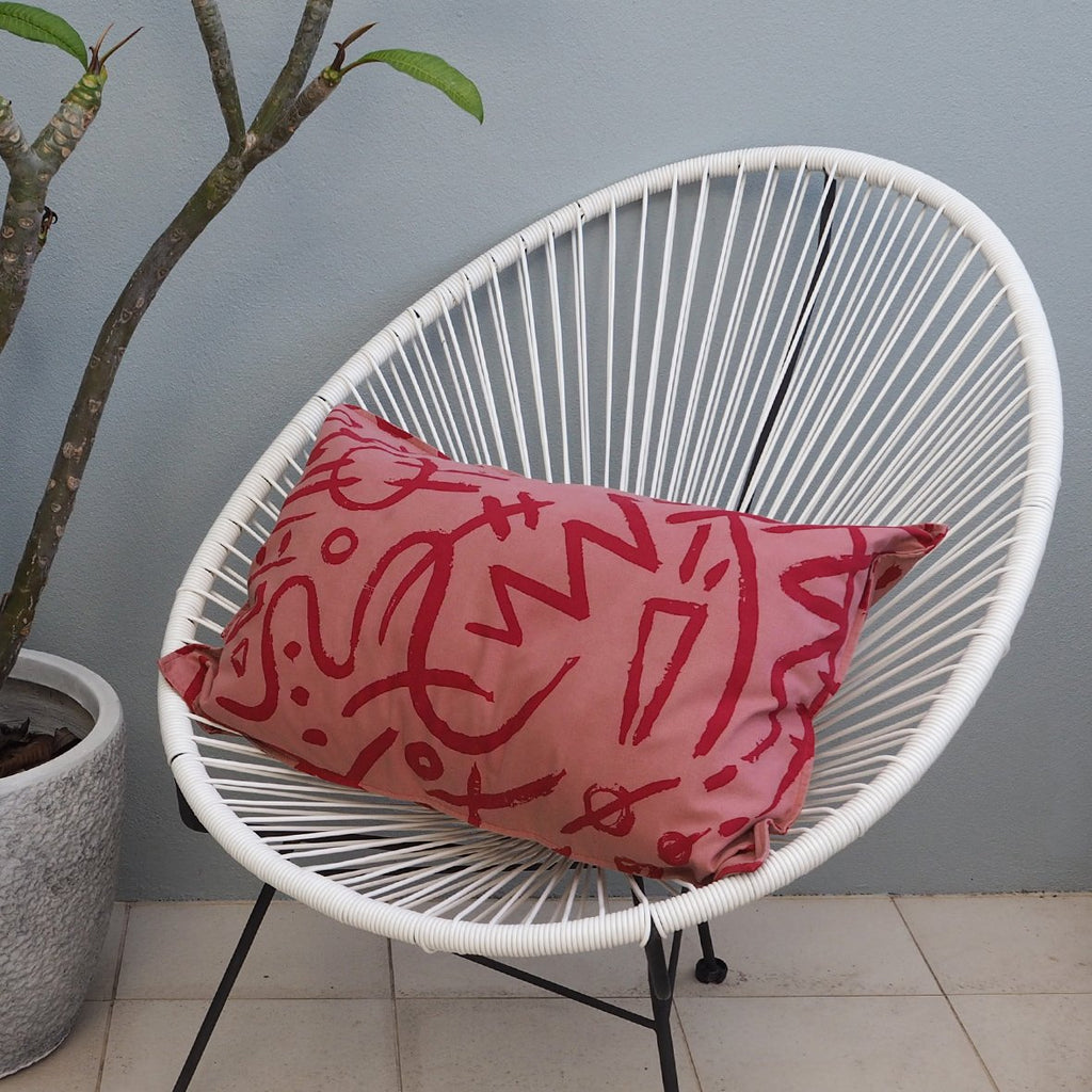 CUSHION COVER - Scarlett Print - Cotton