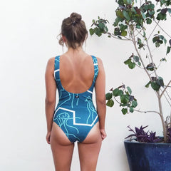 Swimmer - MAN O WAR Original Print - Stretch Neopoly