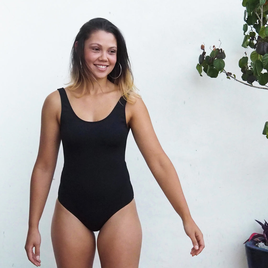 SALE - Swimmer - BLACK - Stretch Neopoly