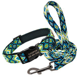 Personalized matching collar and leash set
