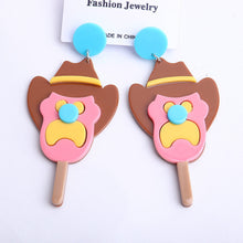 Load image into Gallery viewer, Bubble O'Bill ice cream drop earrings