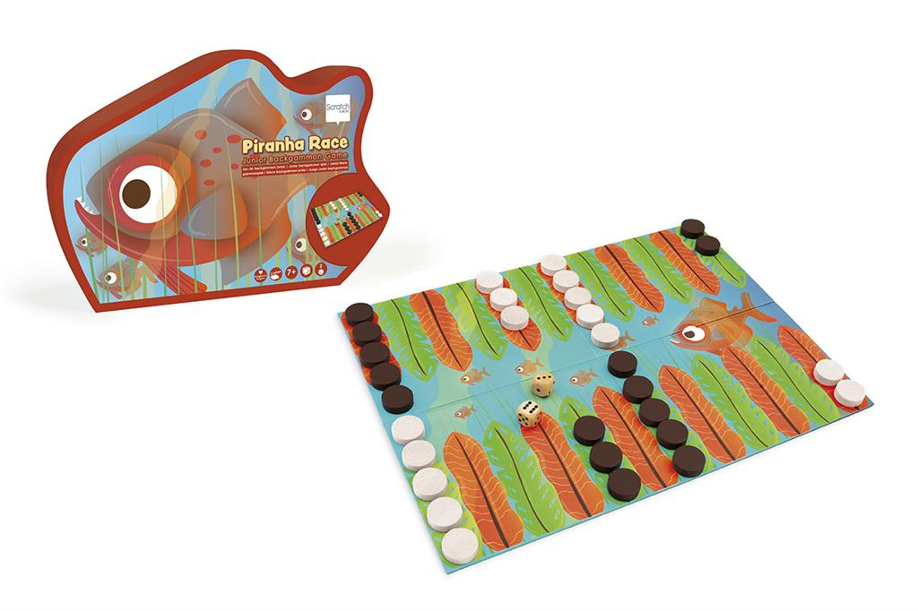 Piranha Race -Backgammon