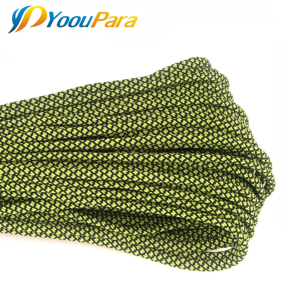 New Colors 100FT Paracord Rope Type III 7 Stand