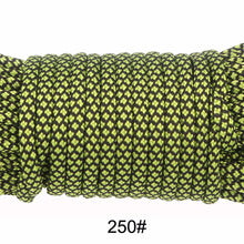 Load image into Gallery viewer, New Colors 100FT Paracord Rope Type III 7 Stand
