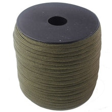Load image into Gallery viewer, 252 Colors 50 M/Spools Paracord 550 Paracord Rope Outdoor Camping Survival Wind Rope
