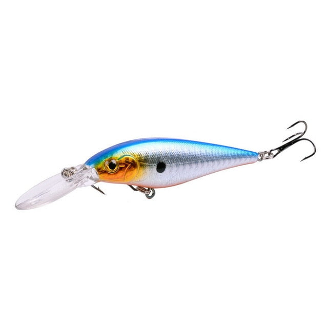 1PC Fishing lure  Artificial Hard Bait 11cm 10.5g
