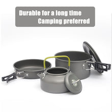 Load image into Gallery viewer, Quality Camping  cookware set