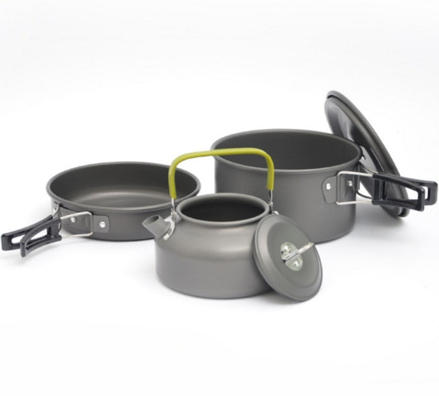 Quality Camping  cookware set