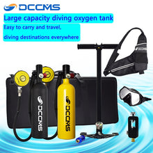 Load image into Gallery viewer, scuba diving oxygen tank diving equipment