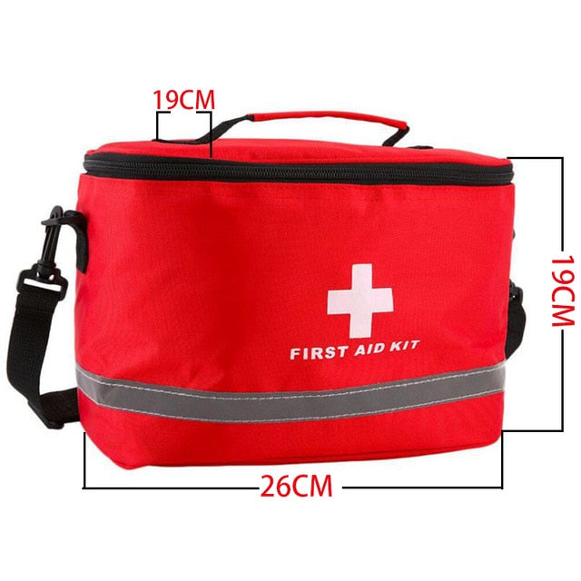 camping survival medical  First Aid Kit Bag