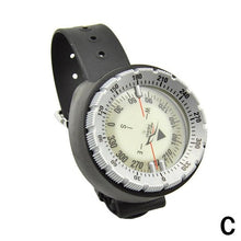 Load image into Gallery viewer, 50m watch balanced waterproof compass