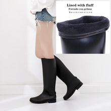 Load image into Gallery viewer, Waterproof High Boots Super Soft Foldable Women Winter Water Snow Non-slip