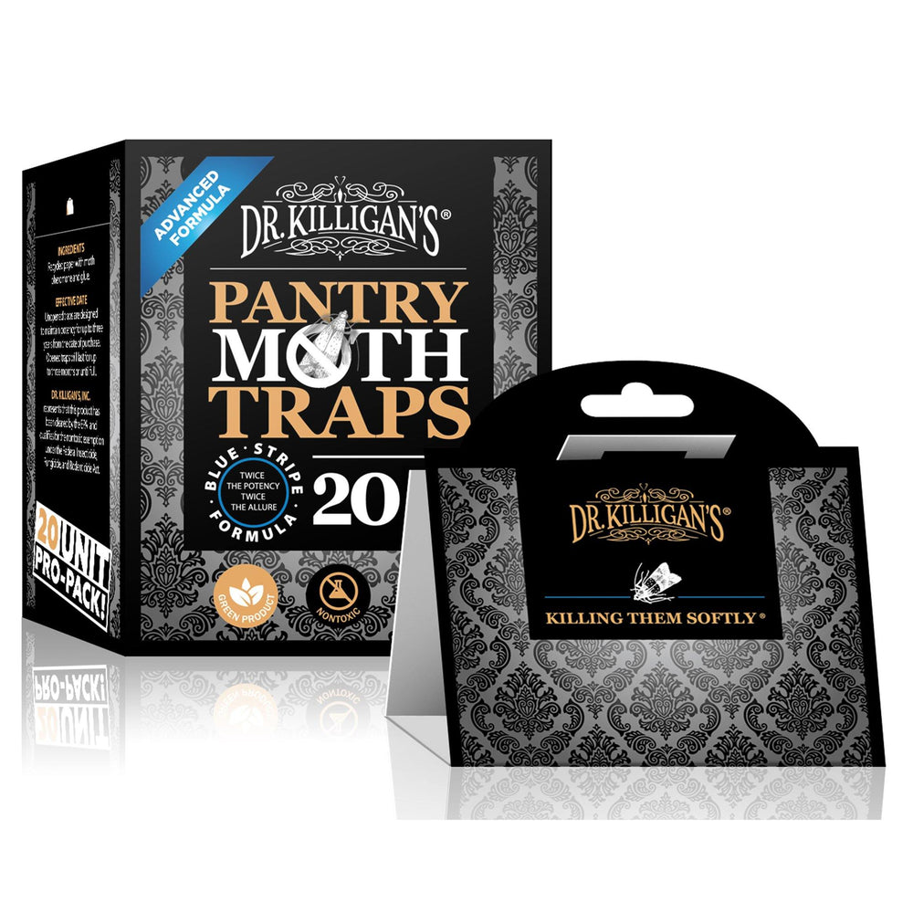 Premium Pantry Moth Traps | 20 Pack - Dr. Killigan's