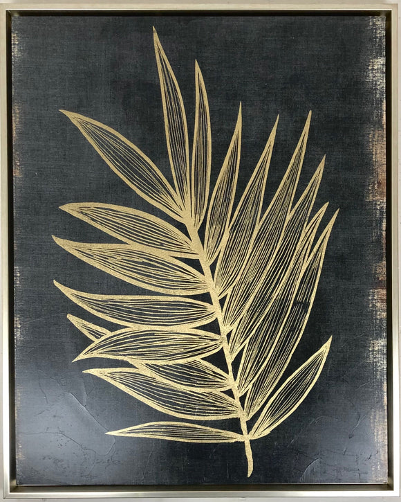 Gilded Botanicals 24x30 Canvas
