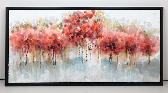 Red Forest 24x48 (Canvas)