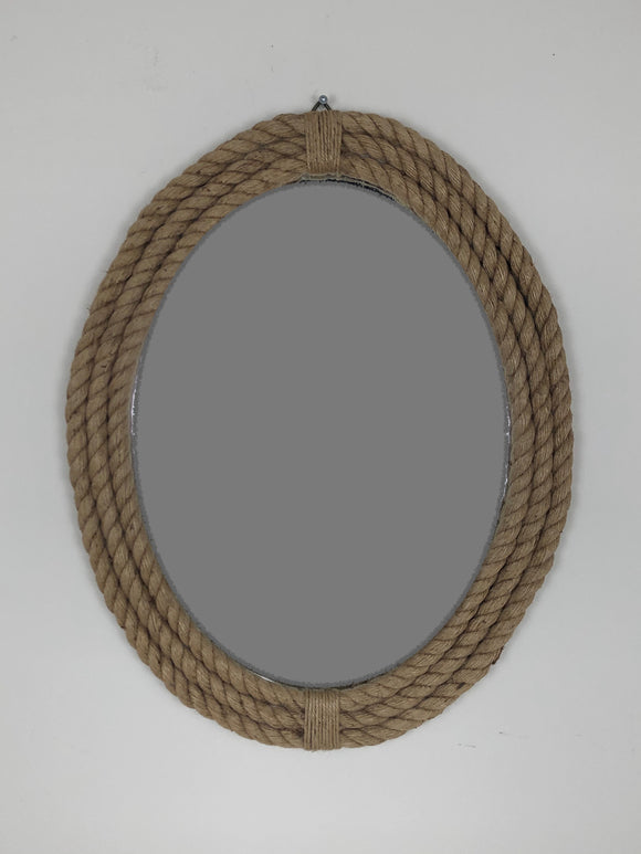 Triple Rope Frame 18x23 Mirror