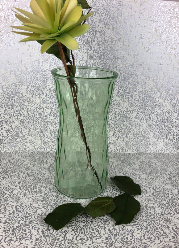 Green Glass Vase 9