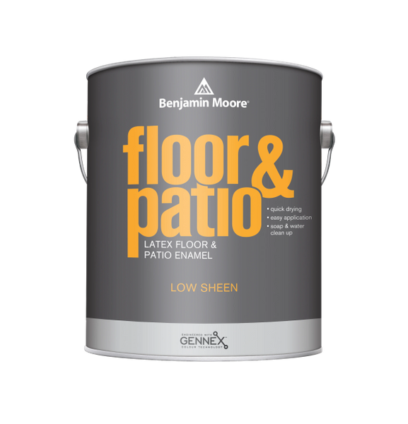 Floor & Patio Latex Enamel (Interior/Exterior)
