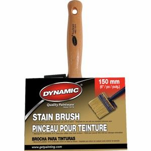 "DYNAMIC 6"" Extra Thick Stain Brush"