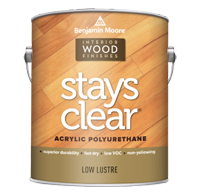 STAYS CLEAR Acrylic Polyurethane (Interior Only)