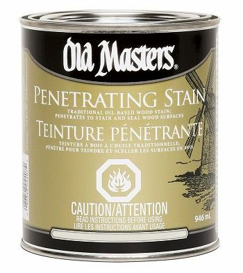 Old Masters PENETRATING STAIN (Oil Based)
