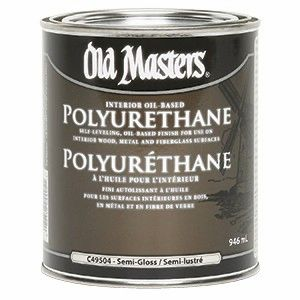 Old Masters POLYURETHANE (Satin Finish)