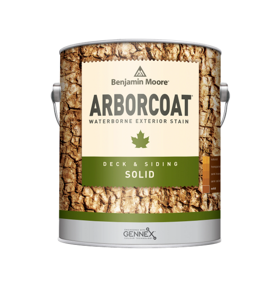 ARBORCOAT Exterior Solid Stain (Water-Based)