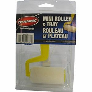 "DYNAMIC Economy Mini 3"" Roller & Tray Kit"