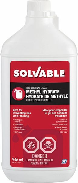 SOLVABLE Methyl Hydrate 946ml