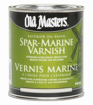 Old Masters SPAR MARINE VARNISH (Satin Finish) Quart
