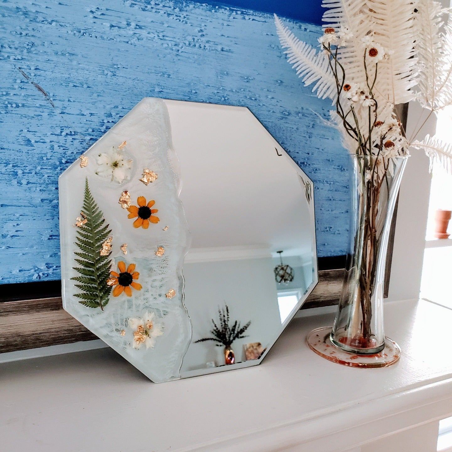 Floral Tides Mirror
