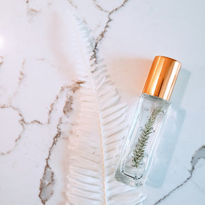 essential oil rollerbottle real fern