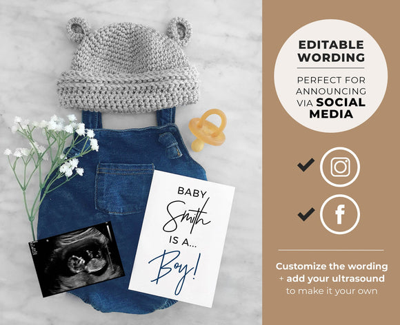 Umi Gender Reveal Social Media Due Date Pregnancy Announcement