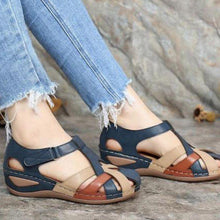 Load image into Gallery viewer, 馃敟馃敟2020 summer American round toe velcro sandals